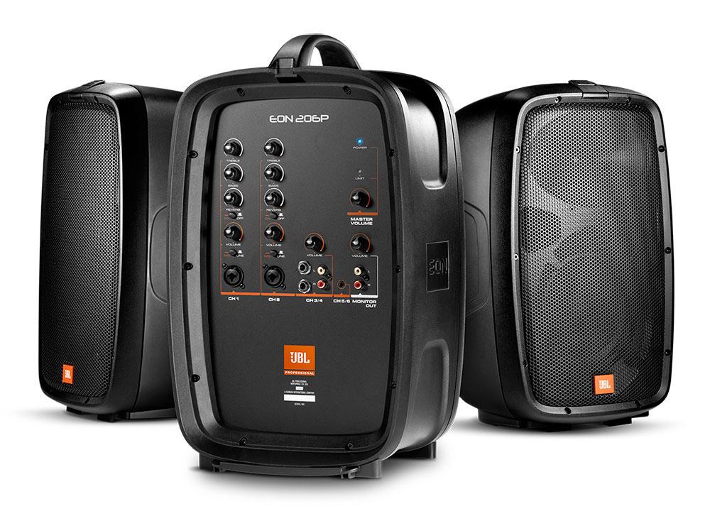 JBL EON206P - Location Enceinte portatif  JBL EON 206 P 6.5″ 160 W