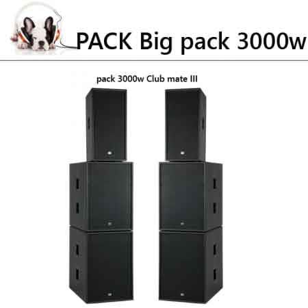pack 300 450x450 - Location pas chère pour le week end   Big pack 3600 w Club mate III
