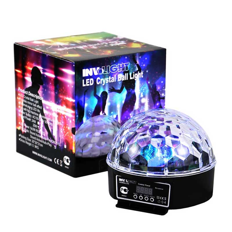 location jeu de lumi re paris boule led disco. Black Bedroom Furniture Sets. Home Design Ideas