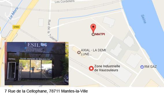 adresse esil 1 - location sono lumière Paris : ESIL, prestataire son éclairage