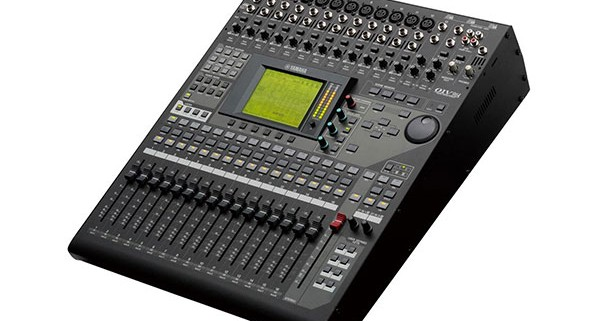 console mixage yamaha 01v96 600x321 - Location console de mixage numérique : yamaha QL1