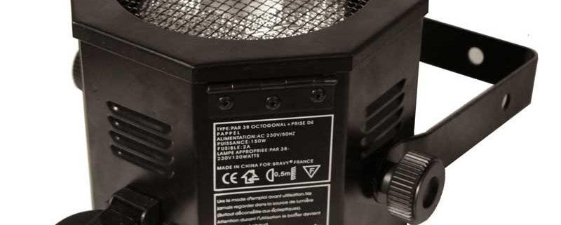 location projecteur boite d ambre octo par 38 lumiere 800x321 - Location  Projecteur Boite à led  par 56 led