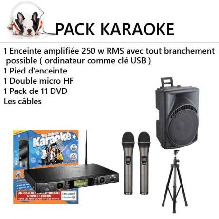 pack karaoke economique 1 450x450 - Location Pack karaoké : kit sonorisation et éclairage