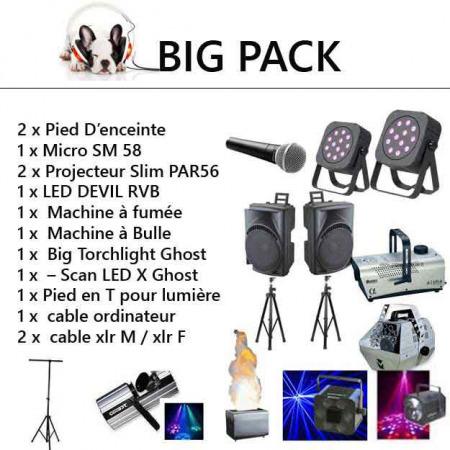 big pack 12 1 450x450 - Location big pack complet: kit sonorisation et lumière