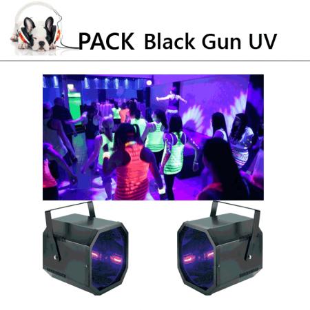 pack Black Gun UV 450x450 - Ce pack de 2 blacks gun de 400 W et parfait pour vos soirée fluo dans les grands éspaces. pourquoi ?