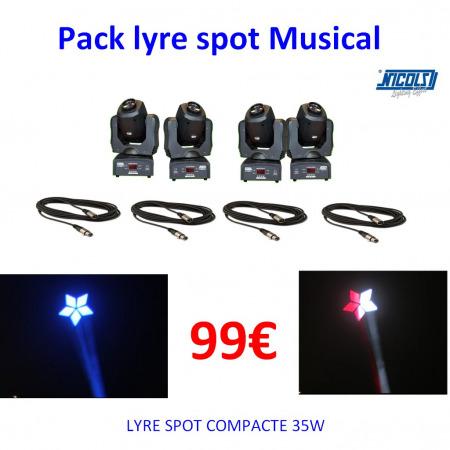pack1lyre 450x450 - Location Pack 4 Lyres spot birday: kit éclairage de soirée