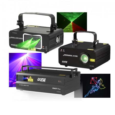Laser couleur