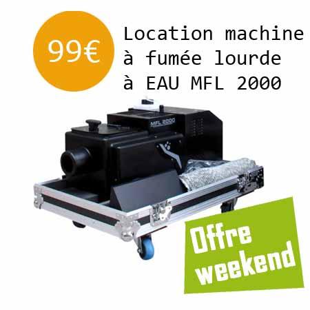 Location machine a fumee lourde 1 - Location machine à fumée lourde, machine a effet.
