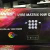 IMG 4305 100x100 - Cette lyre led matrix 90 W et parfait pour un éclairage de fete. pourquoi ?