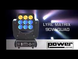 lyre 2 - Cette lyre led matrix 90 W et parfait pour un éclairage de fete. pourquoi ?