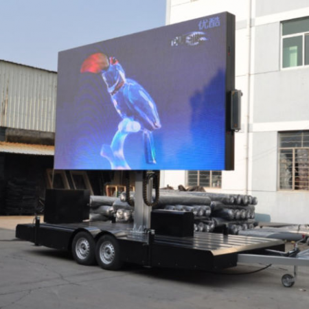 Ckgled Outdoor LED Trailer Display Screen Panel for Advertising 450x450 - Ecran LED sur Remorque