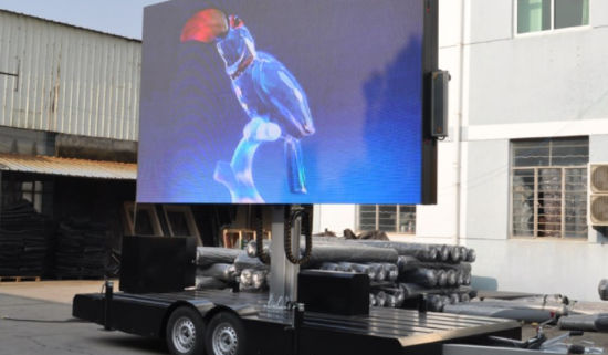 Ckgled Outdoor LED Trailer Display Screen Panel for Advertising 550x321 - Ecran LED sur Remorque