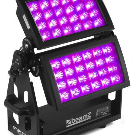 Start color 1 450x450 - Ce projecteur double led extérieur Star Color 720 W est parfait pour éclairer des façades : pourquoi ?