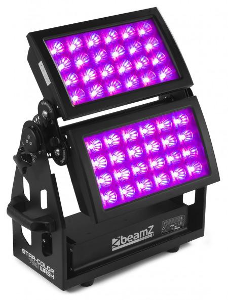 Start color 1 450x593 - Ce projecteur double led extérieur Star Color 720 W est parfait pour éclairer des façades : pourquoi ?