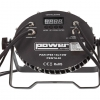 par led penta 40 2 100x100 - PENTA 40 : PAR SLIM LED 18 x 10W IP65 pour éclairage extérieur même par temps de pluie.