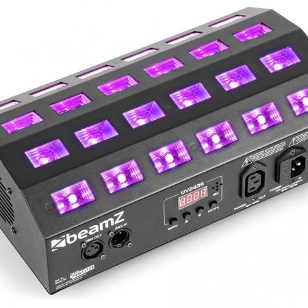 beamz buv463 strobe led uv 450x450 - BUV 463 STROBE LED UV : lumière noire pour vos soirées fluo.