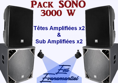 pack sono blanc 450x316 - Ambiance Certifier avec ce Pack Sono 3000 W